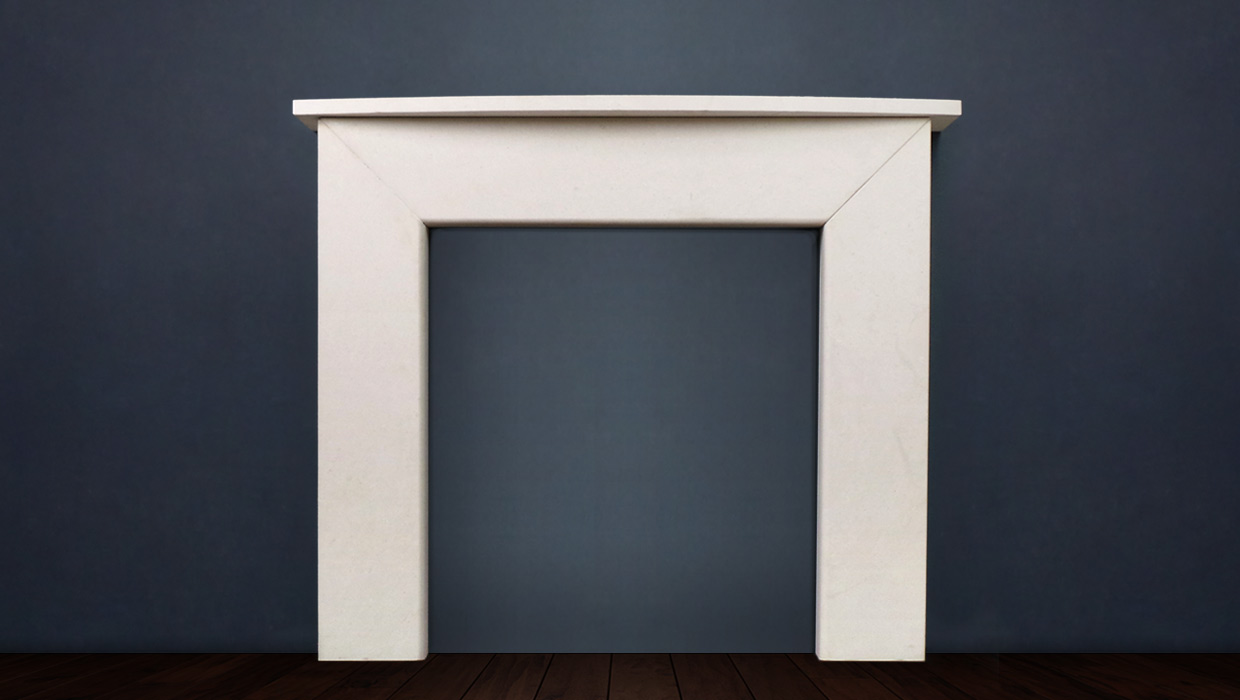 The Modern II is a modern classic, this fireplace comes with a choice of shelf and is available in limestone and marble. This contemporary look makes the Modern II very popular for new builds and renovations