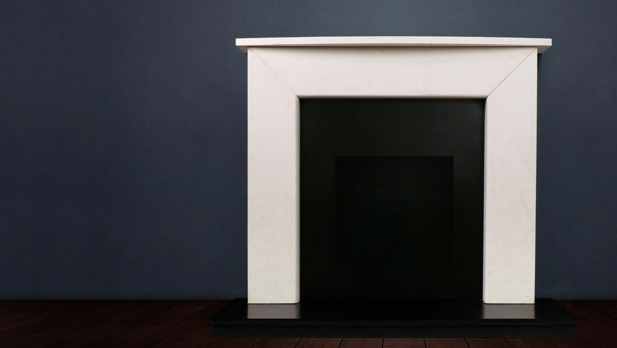 The Modern II is a modern classic, this fireplace comes with a choice of shelf and is available in limestone. The Modern II's contemporary look makes this fireplace very popular for new builds and renovations
