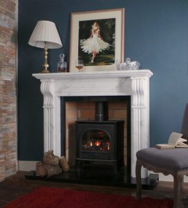 Classic Corbel Fireplace From Buckleys Portrait