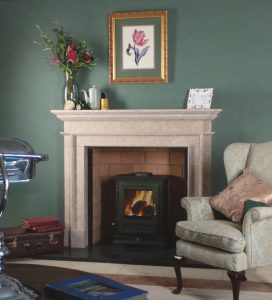 Classic Stone fireplace from Buckles