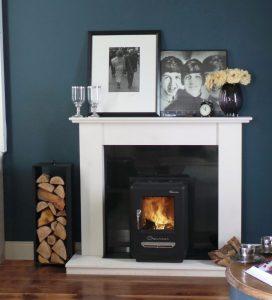 Stylish Irish made fireplace
