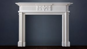 Garland Detial Victorian Fire Surround Buckley Fireplaces