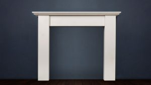 The Merlin is a handmade fireplace in a choice of marble or limestone with strong and stylish proportions that make it the ideal choice for contemporary interiors