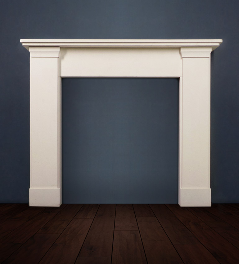 The Ashdon is a fireplace in a traditional style designed with refined detailing and elegant proportions available in limestone or marble