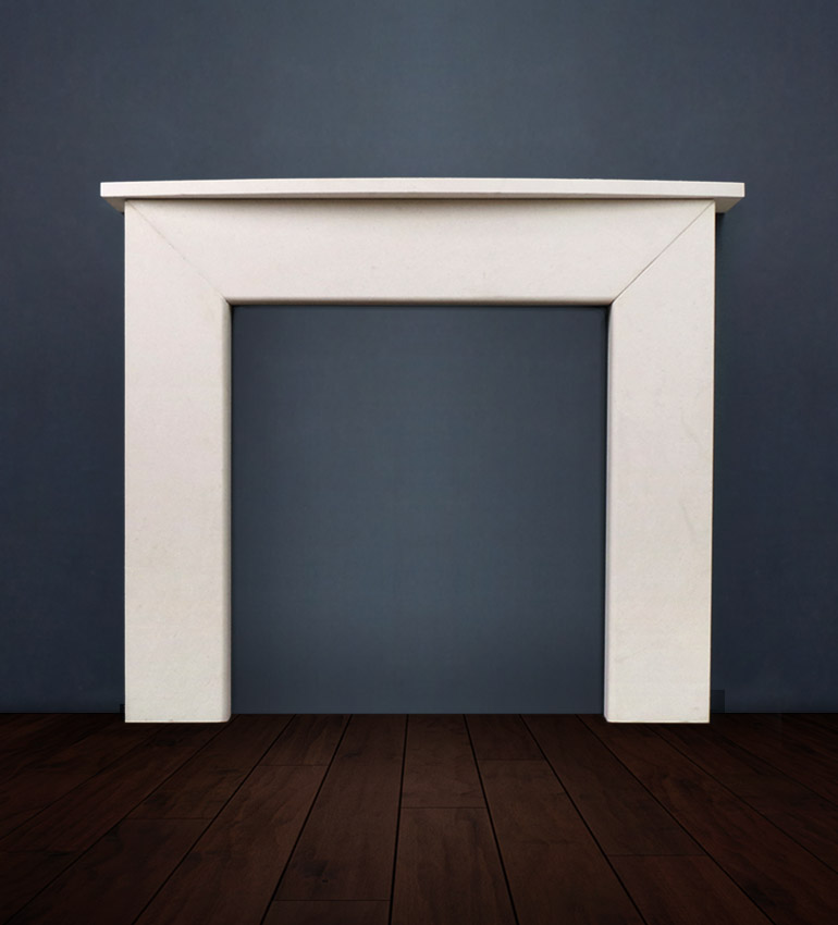 The Modern II is a modern classic, this fireplace comes with a choice of shelf and is available in limestone and marble. The Modern II's contemporary look makes this fireplace very popular for new builds and renovations