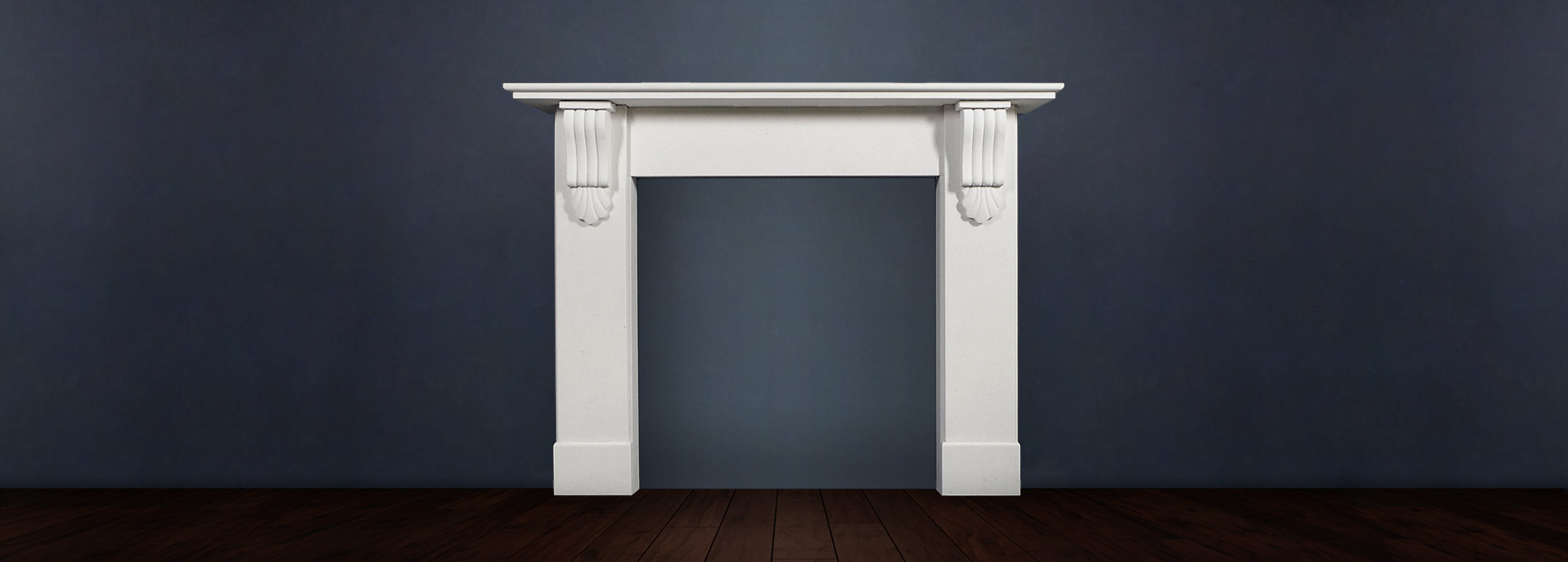 The Victorian Corbel fireplace is a soft scalloped Victorian style fireplace in limestone, this beautiful surround sets off any interior with its delicate corbel ornamentation