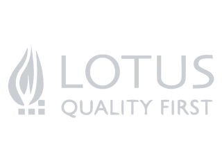 Lotus logo suppliers of stoves to Buckleys